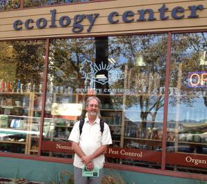 Here I am a few days ago in Berkeley, on the first stop of my local Wasted Author Tour, at the Ecology Center, where I served as Ecology Center board member and volunteer in the 1990s.