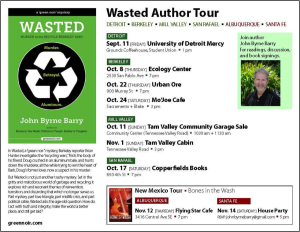 Wasted Author Tour