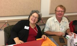 Ruth Schwartz and John Cammidge